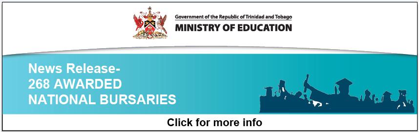 News Release: 268 AWARDED NATIONAL BURSARIES