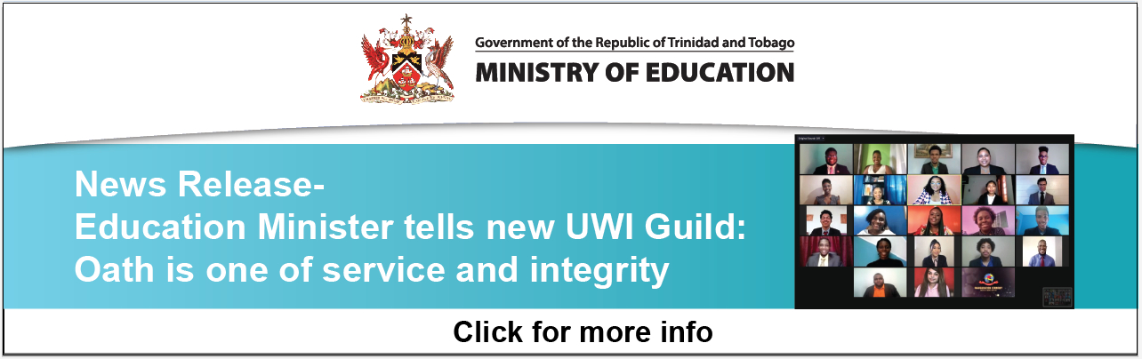 News Release: Education Minister tells new UWI Guild: Oath is one of service and integrity