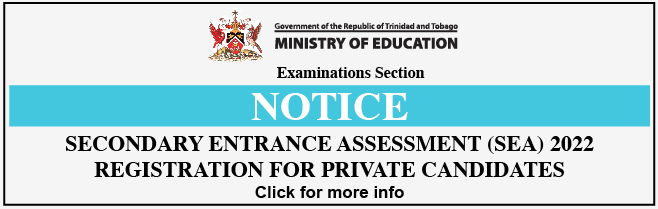SEA Registration for Private Candidates 2022